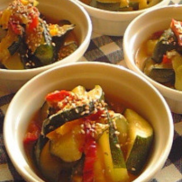 バンゴ:ズッキーニの味噌炒め