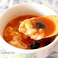 包丁も火も使わないゴロゴロ豆のスープ