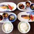 食べて満足の厚切り塩鮭☆さつまいものシナモンロースト♪☆♪☆♪