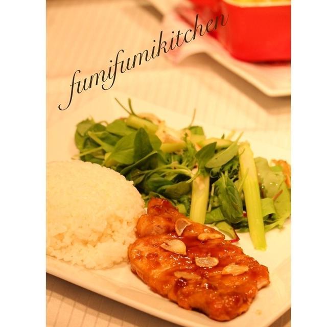 ワンプレートディナー『ガーリック豚ステーキ』