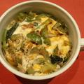 ゴーヤと絹ごし豆腐の卵とじ