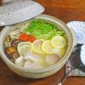 スープを飲み干してしまうほど絶妙!3種のきのこと鯛のうま塩鍋