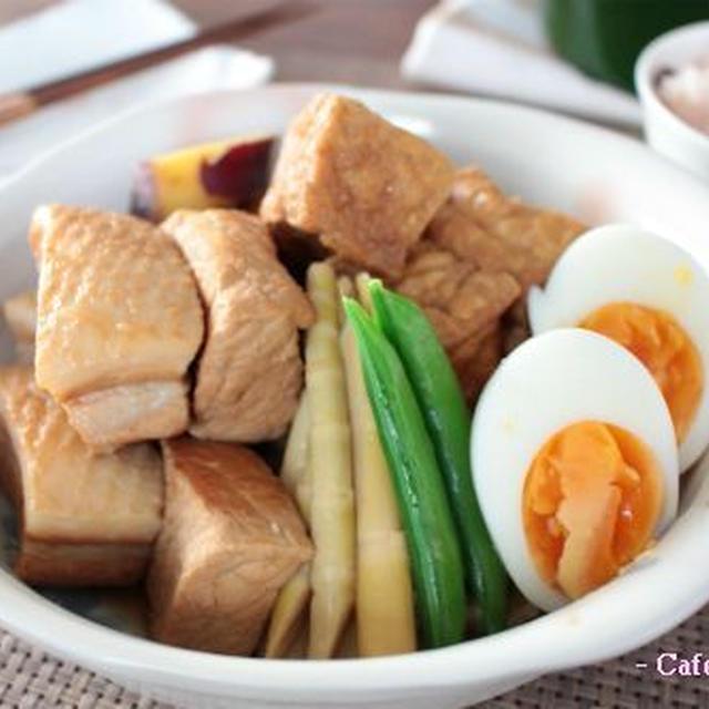 無洗米お赤飯と短時間でさっぱり中華角煮&ワンコ