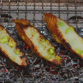 手造りにぎり棒天『枝豆』の炭火焼