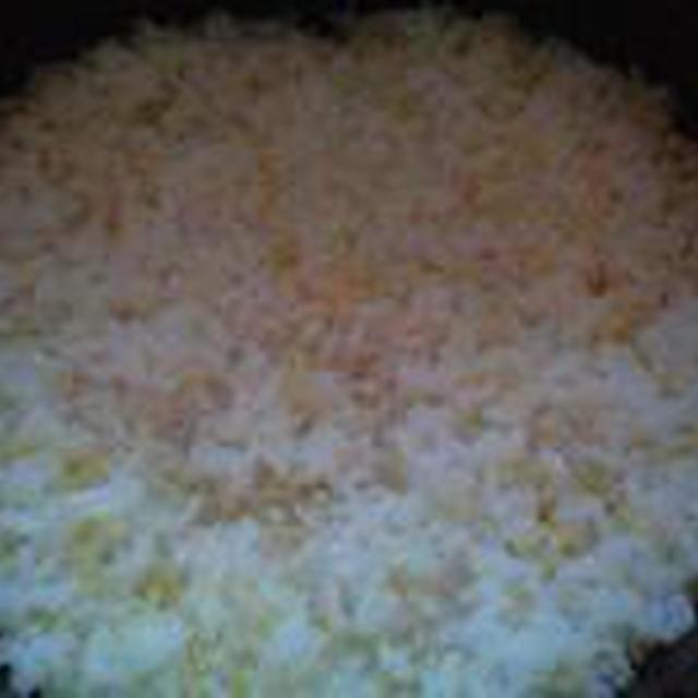 湯立てで白米(662)。。。特別栽培米広島世羅高原産コシヒカリ玄米(あいざわ米店)福井県産越前たけふ特別栽培米コシヒカリ白米(あいざわ米店)