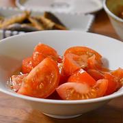 【材料ひとつでささっとひと品】トマトのサラダ