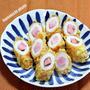 お弁当に「竹輪のベーコン天ぷら」&残った衣で甘いじゃが天