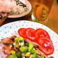 チキンのキウイサルサ添え ~  Chicken and Kiwi Salsa  by mayumiたんさん