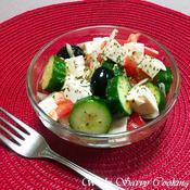 塩豆腐で作るヘルシーグリークサラダ