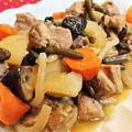 【レシピ】ホッコリ★優しい味★おふくろの味【炒り鶏(筑前煮)】