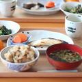 2月14日(日)五目おこわご飯 de 朝ごはん