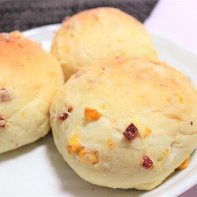 【レシピ】甘味×塩気がクセになる! コーンとサラミの惣菜パン