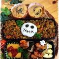 ハロウィンとクリスマスは仕方ない(笑) ~高校男子弁当!~ by あっ君ママ♪さん