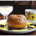 おうちモーニング その1866 ~tecona bagelworksの花椒&チーズベーグル~