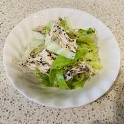 茹でキャベツと鶏胸肉のゆかりマヨ和え by 美雪さん