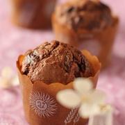 バレンタインに♪チョコリッチマフィン