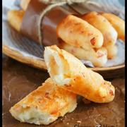 [捏ねない!発酵なし!] フライパンでチーズとハムのクリスピー☆スティックブレッド※おススメ