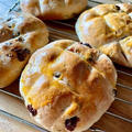 Pan di ramerino ローズマリー入り葡萄パン