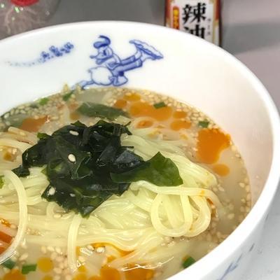 【簡単アレンジレシピ】インスタントスープの素にちょい足し☆簡単☆時短☆担々麺