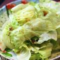 ちぎりレタスのサラダ