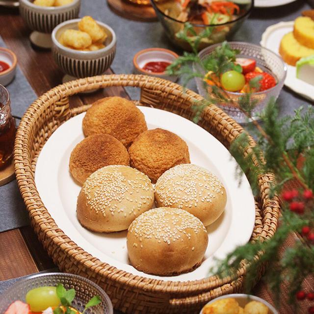 【献立】台湾胡椒餅と叉焼メロンパン。~正月の残党がいますが2ケ月前の晩ご飯ですんで~