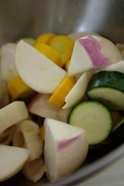 野菜のオーブン焼き、作りました。(5/3)