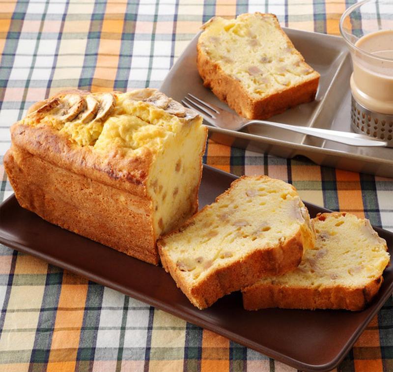 クセのないオレインリッチを使えば、バナナの風味がしっかり生きておいしさアップ!ティータイムにぴったり...