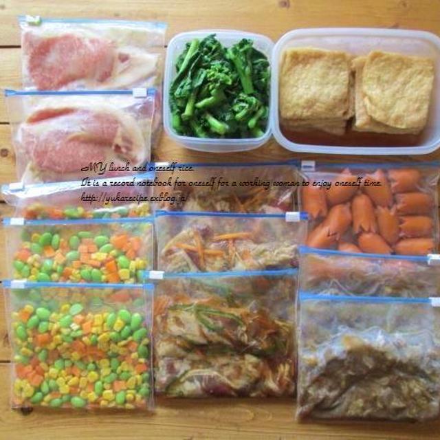 イエシゴトVol.41 タケノコ常備菜と自家製冷食作りと朝ごはん