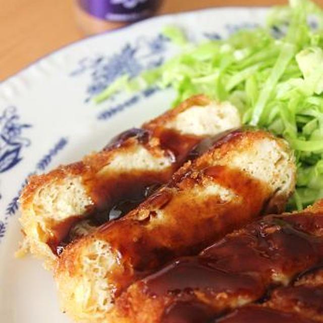 凍らせた豆腐で簡単♪ なんちゃってトンカツ^^