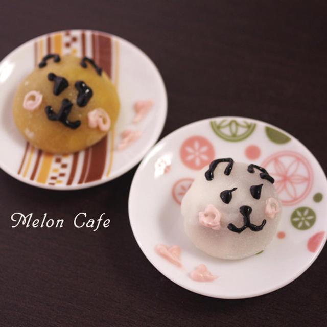 簡単お月見団子のキャラデコ☆和菓子でウサギ&妖怪ウォッチのデコレーション