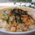 鮭の簡単混ぜ寿司
