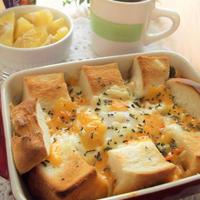 レンジ&トースターで ひとリッチランチ!野菜たっぷりトムヤム チー卵 パングラタン
