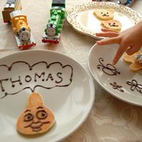 お絵かきパンケーキでキッズパーティー☆