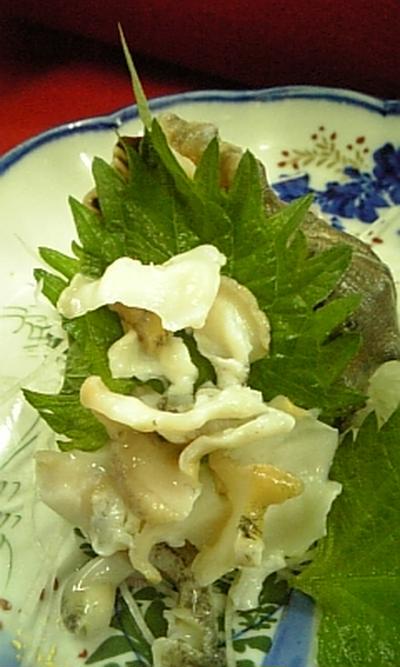 にし貝刺身:アカニシのさばき方