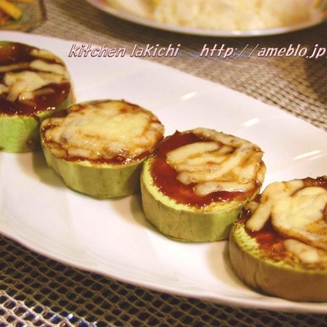 とろとろ★トロ茄子のチーズ田楽・コリンキーのバルサミコサラダ&♪つくれぽ2件♪