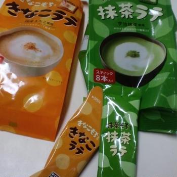 チロルチョコ×日東紅茶 きなこ・抹茶ラテ (モラタメ・タメ)