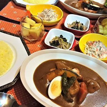 我が家のイチオシ【ココナッツミルクdeスープカレー】de 夕食 & クックパッド 話題入り♪