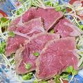 【レシピ】仕事運・金運・健康運アップ!リーズナブルなお肉で、牛肉のたたき風