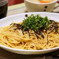 簡単お勧め! えのき茸のガーリックバター醤油スパゲッティ