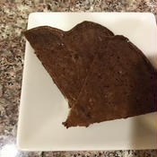 クルミとコーヒーのパンケーキ