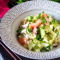 【やみつき白菜】主菜になる!シャキッと白菜とカニかまぼこの中華風