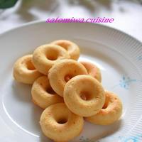 米油で作る!大豆粉と米粉のヘルシー焼きドーナツ♡