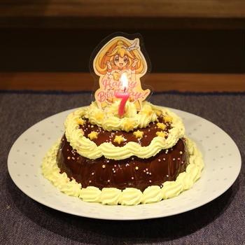7歳バースデーケーキ