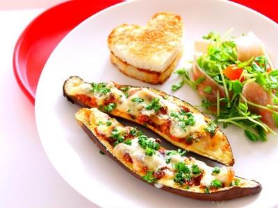 >【簡単!】茄子とひき肉チーズ焼きの作り方・レシピ by 和田 良美さん