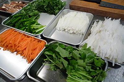 からだにやさしい韓国料理教室 2011年#4