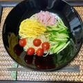 お昼は、今年初の冷やし中華です!! by watakoさん