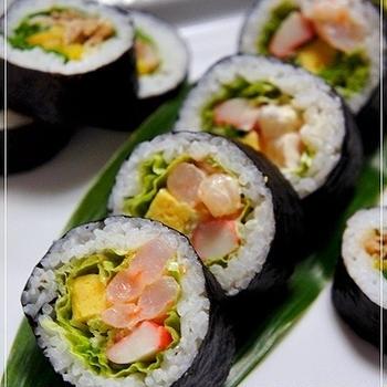 海老サラダ巻き