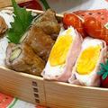 【お弁当】お弁当作り/レンチン活用/茄子と大葉のさっぱり肉巻き