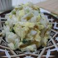 レンチンしたら和えるだけ☆ すりごまたっぷり♪ 白菜のオイマヨごまサラダ