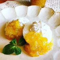 国産レモンジャム♡ オリーブオイルを足してみて♡